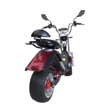 Scooter Electrica E Thor Matriculable 2000W 20AH Rojo